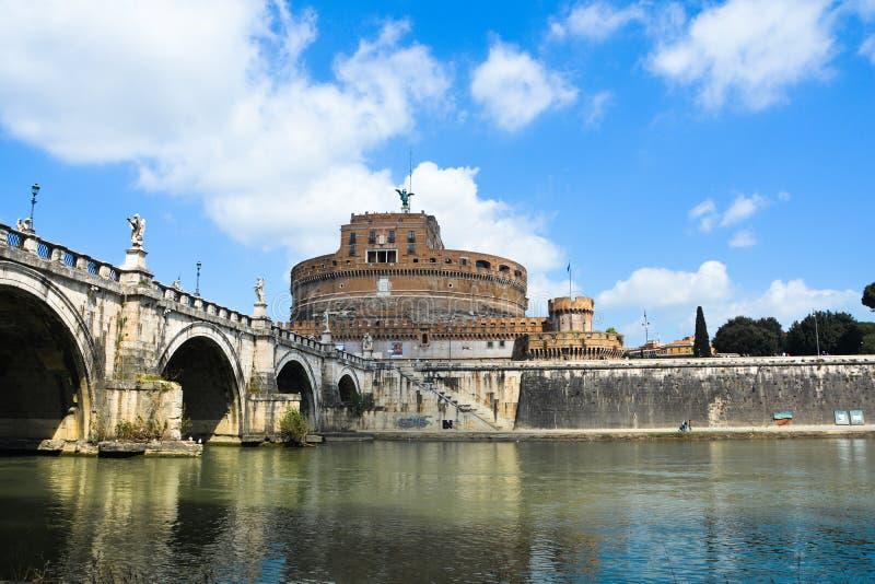 Панорамный взгляд Рима (Папа) стоковые изображения rf