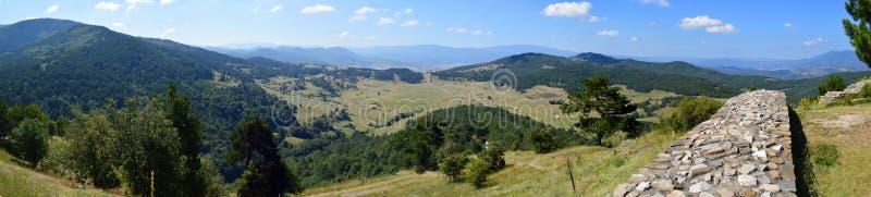 Панорамный вид от горы Орфея стоковое фото rf