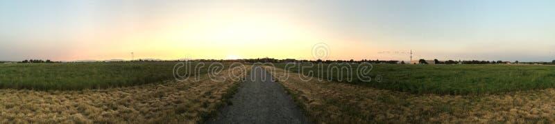 Панорамный открытого пространства стоковая фотография