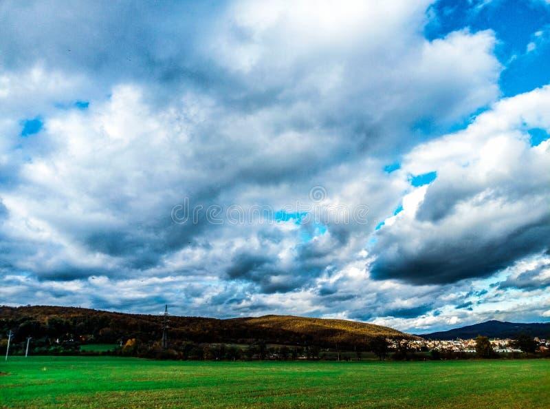 Панорамы Брно стоковое изображение rf