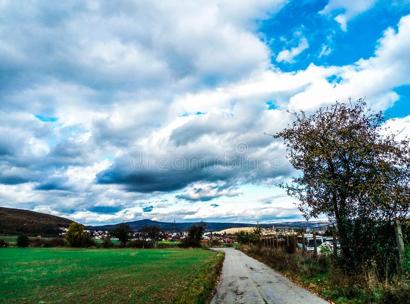 Панорамы Брно стоковая фотография