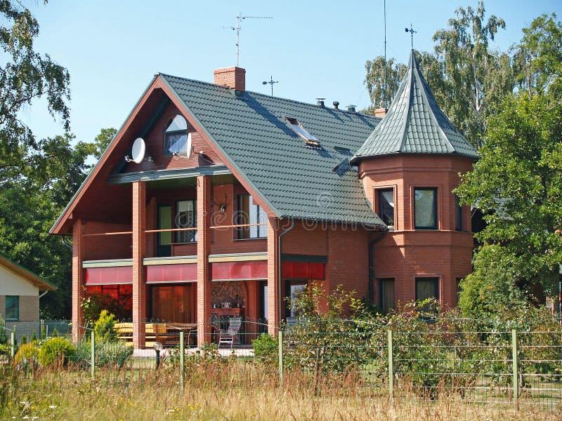 Пансион в районе Kalininigradsky, Россия стоковые изображения rf