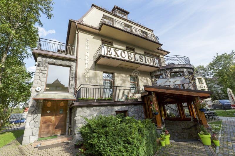 Пансион в Zakopane стоковая фотография