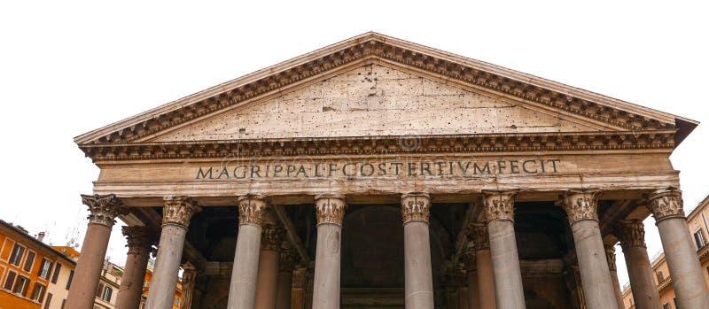 Download Пантеон в Риме - самая старая католическая церковь в городе Стоковое Фото - изображение насчитывающей городок, италия: 81809116