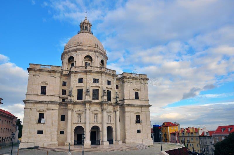 Пантеон Лиссабона стоковые изображения rf