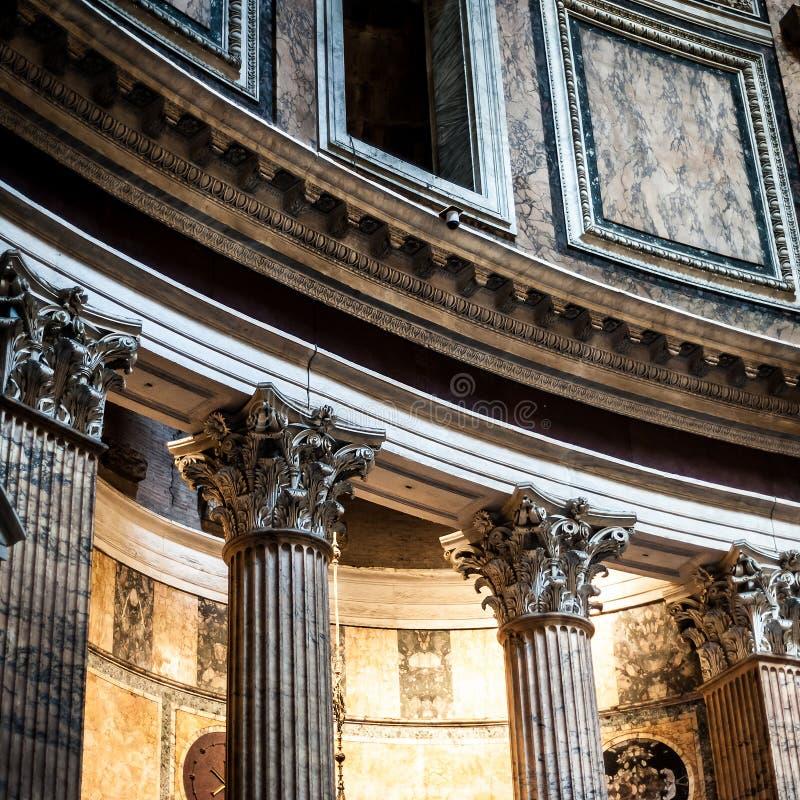 пантеон римский стоковые изображения