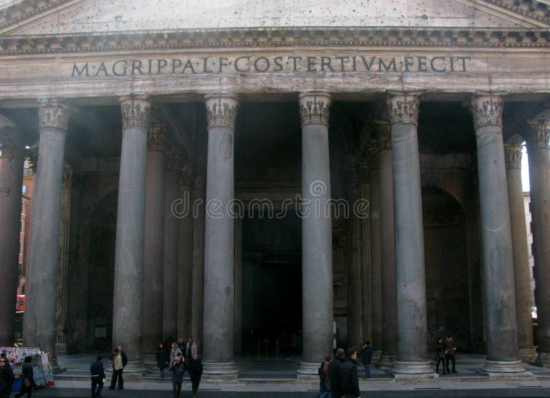 Пантеон стоковое изображение rf