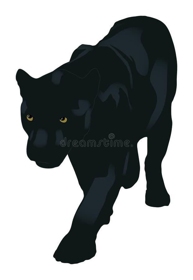 пантера иллюстрация штока