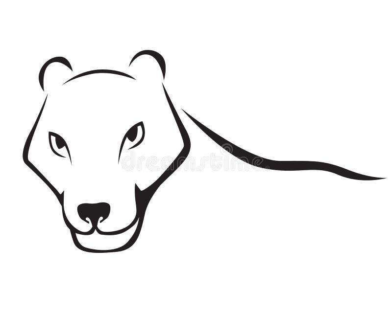Download Пантера иллюстрация вектора. иллюстрации насчитывающей сторона - 33736919