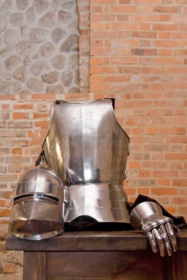 панцырь средневековый стоковые фотографии rf