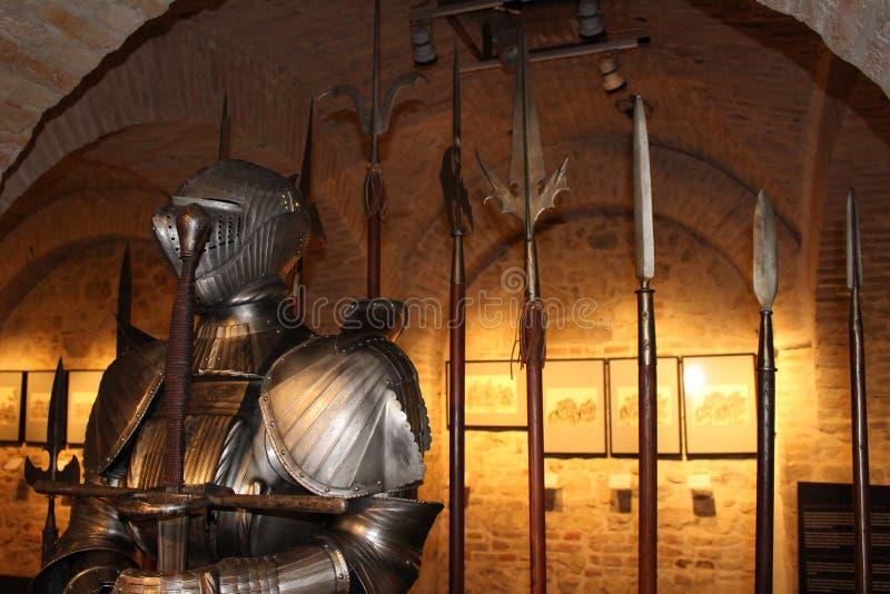 панцырь средневековый стоковое изображение