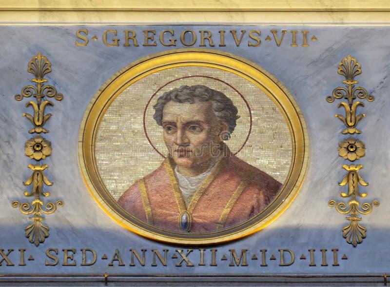 Папа Грегори VII стоковое фото rf