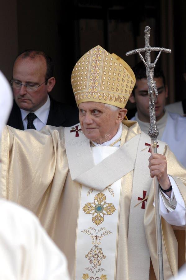 Папа Иосиф Венедикт XVI стоковая фотография rf