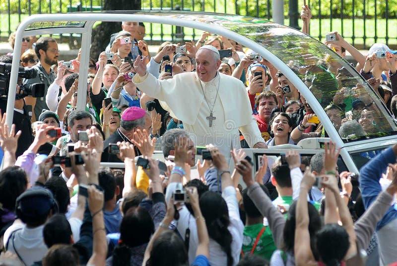 Папа Франсиско стоковая фотография rf