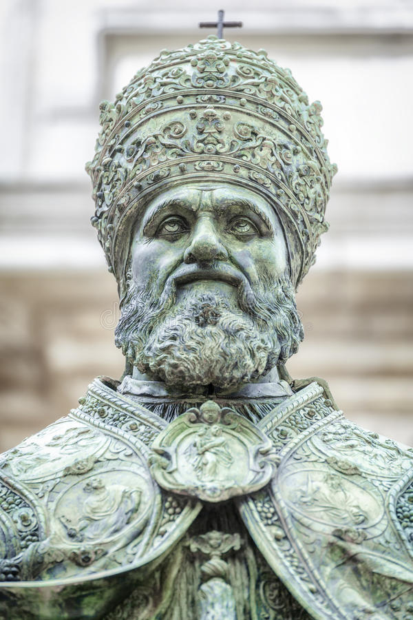 Папа Sixtus v стоковое фото