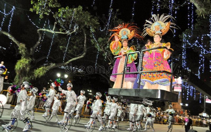 парад конца стоковое фото rf