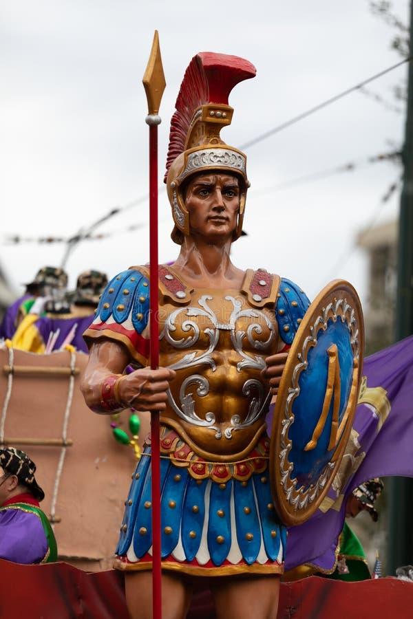 Парад Новый Орлеан марди Гра стоковые фото