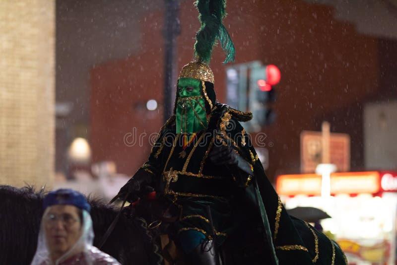 Парад Новый Орлеан марди Гра стоковое изображение rf