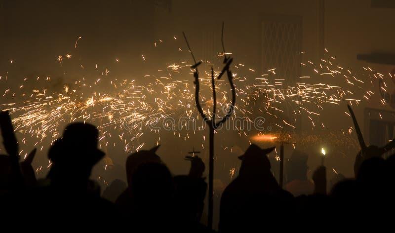 парад пожара стоковое изображение