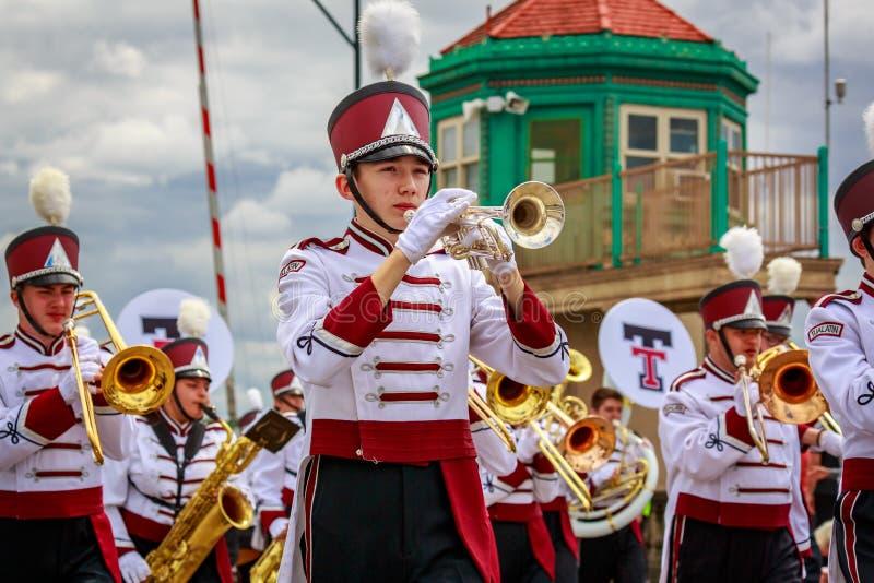 Парад 2019 Портленда большой флористический стоковые фото