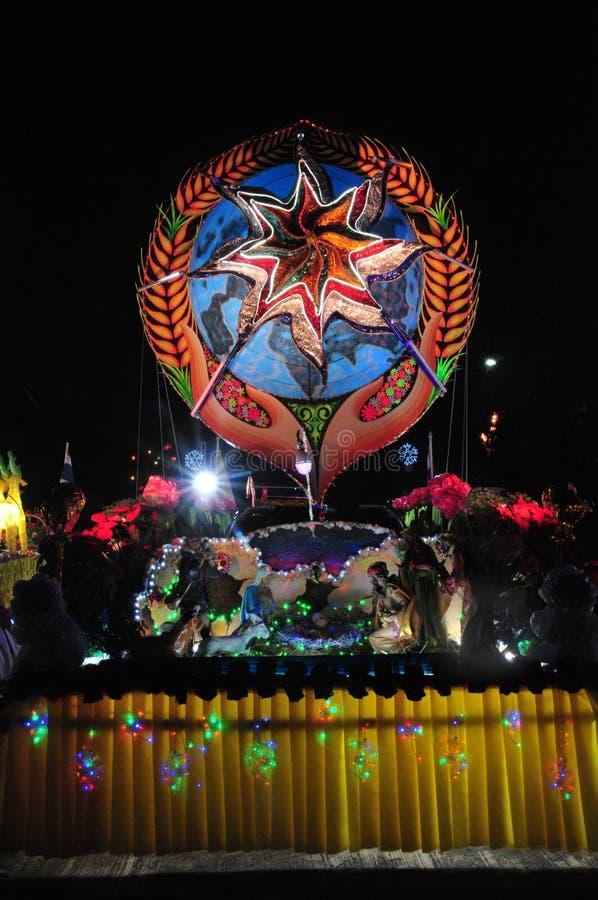 Парад рождества звезд стоковые фото