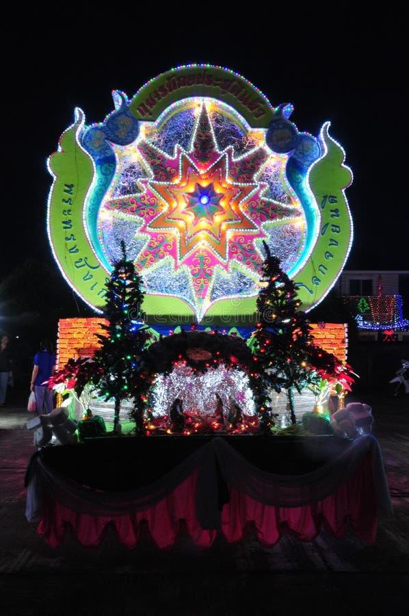 Парад рождества звезд стоковые изображения rf