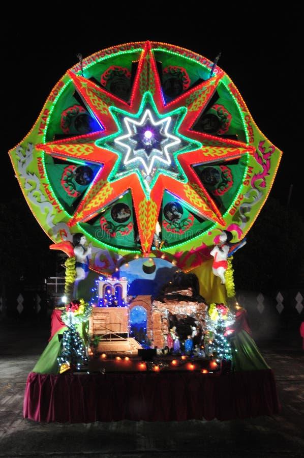 Парад рождества звезд стоковая фотография rf