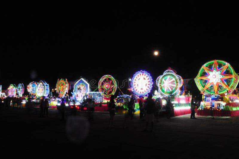 Парад рождества звезд стоковая фотография