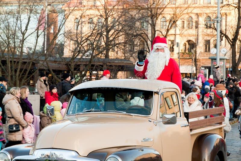 парад рождества стоковые изображения rf