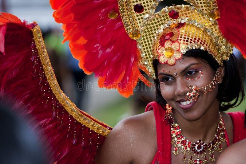 парад caribana стоковая фотография rf