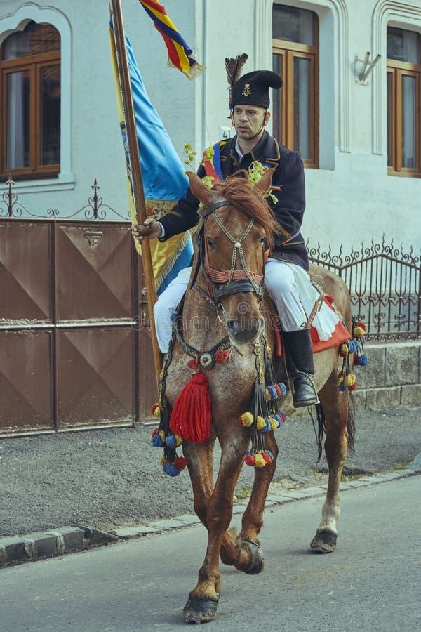 Парад Junii Brasovului, Brasov, Румыния стоковое изображение