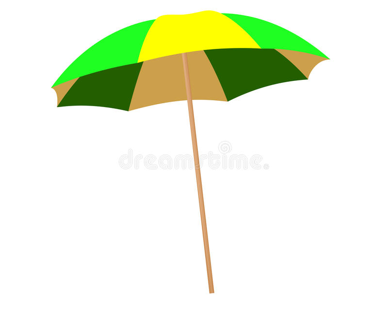парасоль иллюстрация вектора