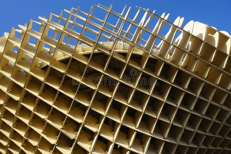 парасоль metropol стоковая фотография rf