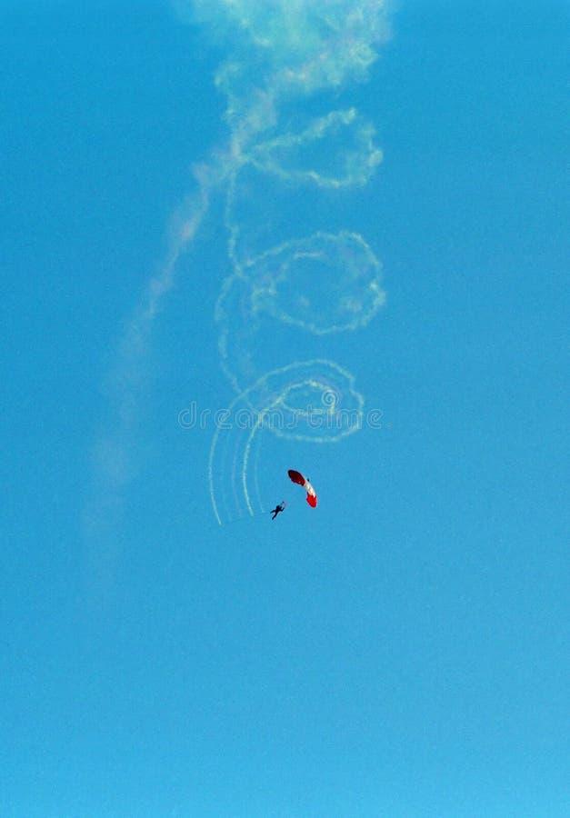 парашют ottawa шлямбура Канады стоковое изображение rf
