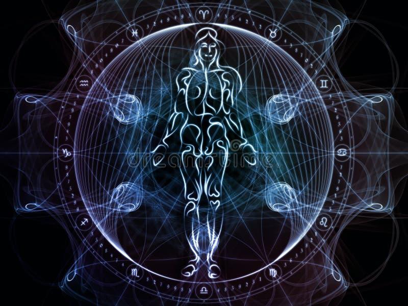 Парадигма священной геометрии бесплатная иллюстрация