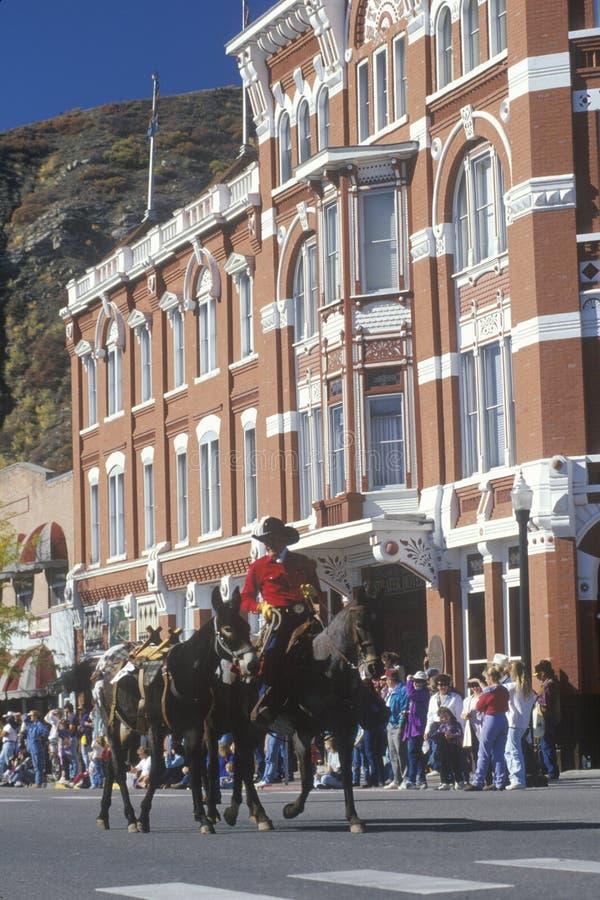 Парад дней ковбоя в Дуранге, CO стоковое фото rf