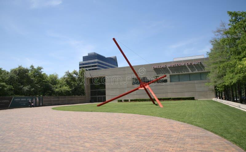 Парадный вход музея изобразительных искусств Далласа стоковые фотографии rf
