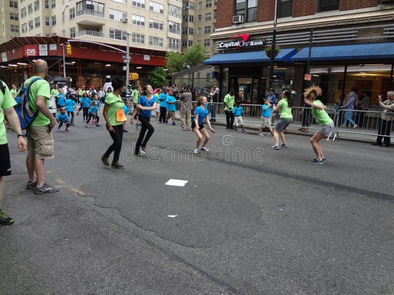 Парад Нью-Йорк 6 2013 танцев стоковое фото rf