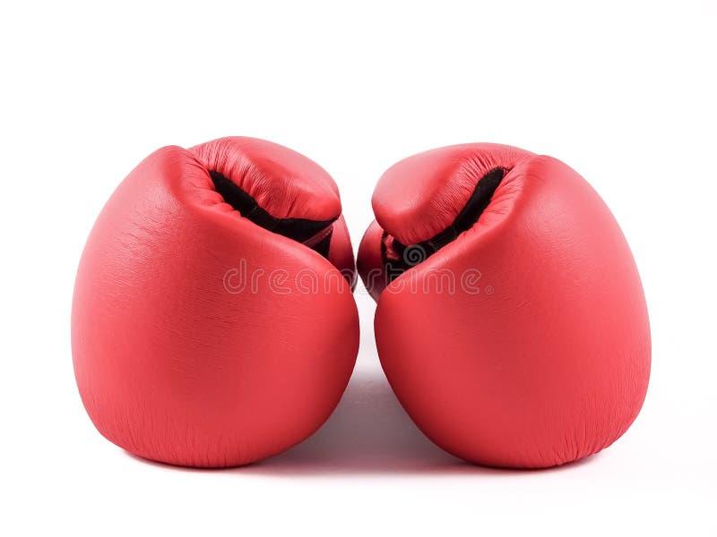 Пара перчаток бокса стоковые изображения rf