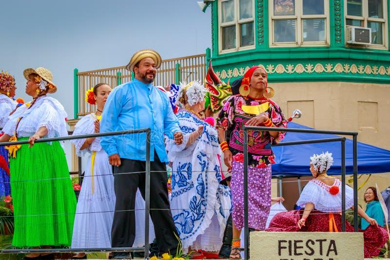 Парад 2017 Портленда грандиозный флористический стоковое изображение