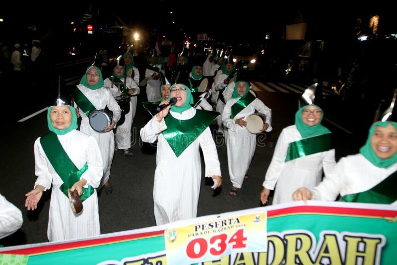 Парад тамбурин стоковое фото rf