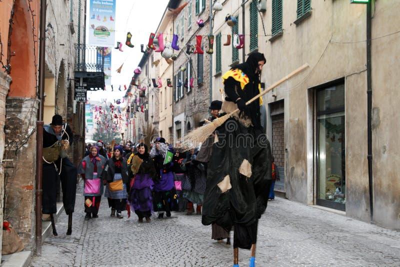 Парад Befana стоковые фотографии rf