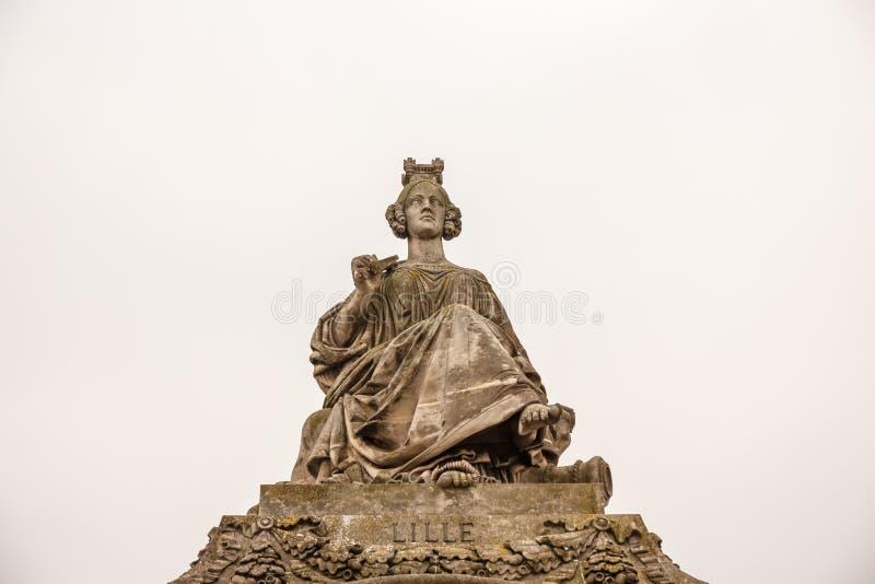 Париж, известные памятники стоковая фотография