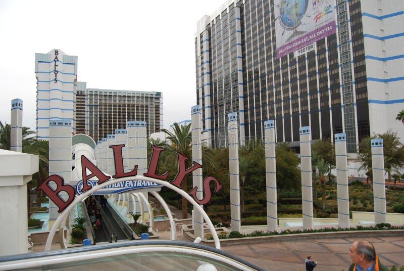 Париж Лас-Вегас, прокладка Лас-Вегас, Bally ` s Лас-Вегас, гостиница Парижа и казино, Париж Лас-Вегас, район метрополитена, город стоковое фото
