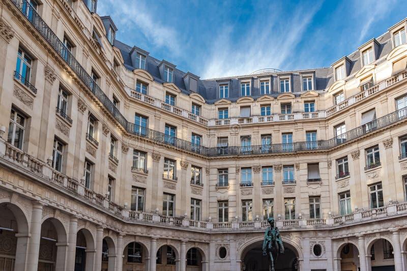 Париж, место Edouard VII стоковые изображения rf