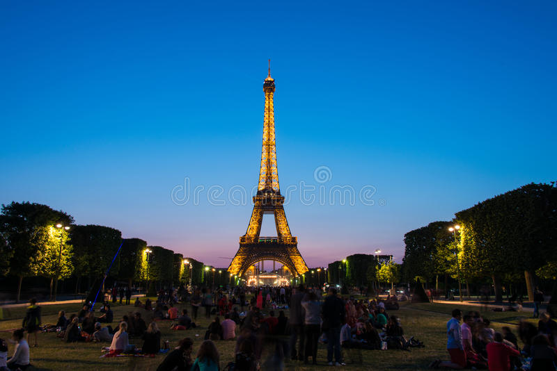ПАРИЖ - 12-ОЕ ИЮЛЯ 2013 стоковое фото