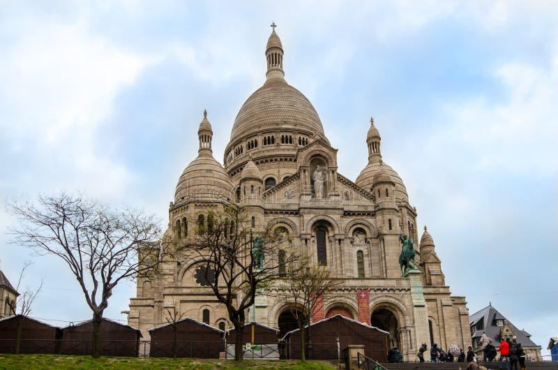 Париж Sacre-Cœur стоковое изображение