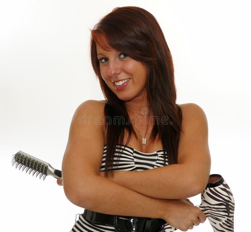 парикмахер стоковое фото