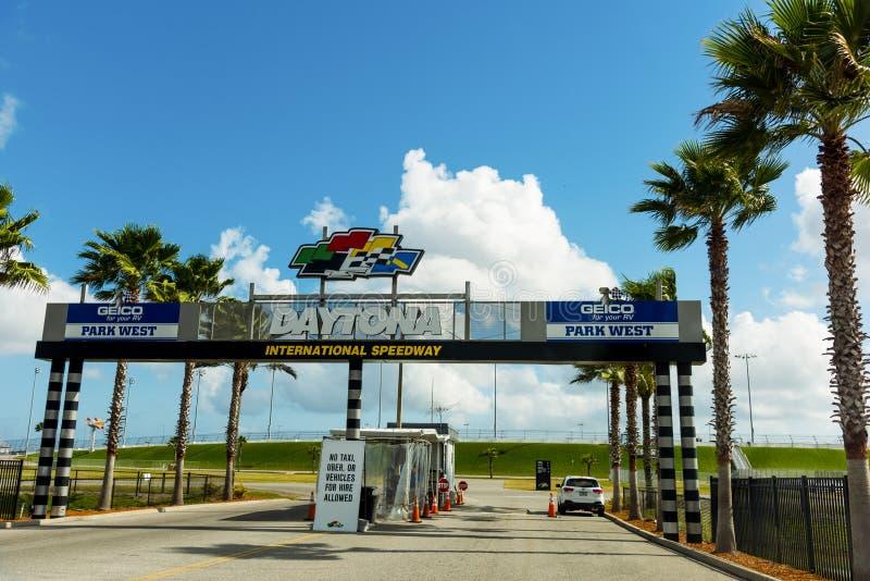 Парка скоростной дороги Daytona ворота международного западные стоковая фотография rf