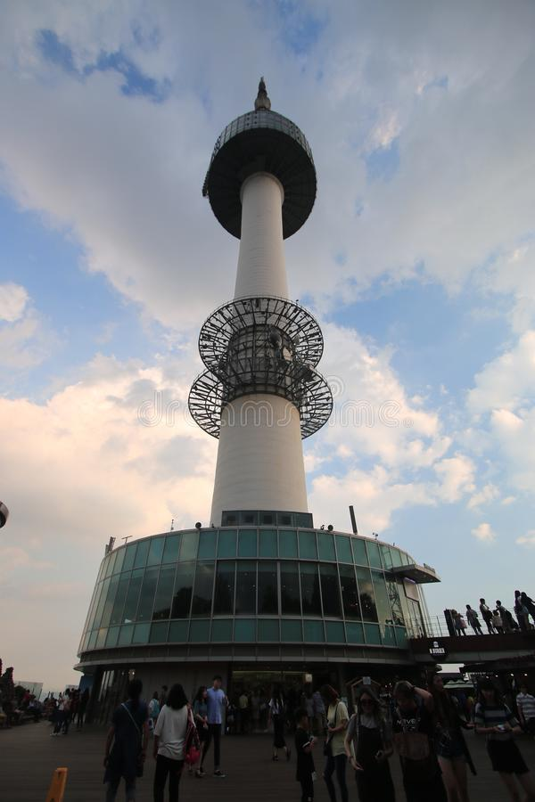 Парк башни Сеула стоковое фото rf
